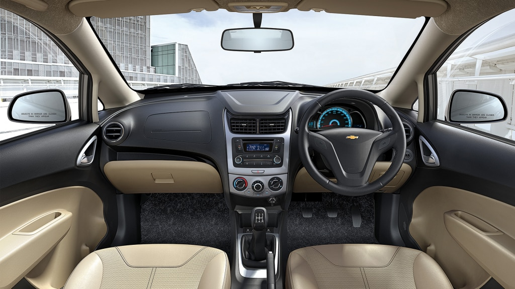 New Chevrolet Sail Interior Picture Gallery | Chevrolet India