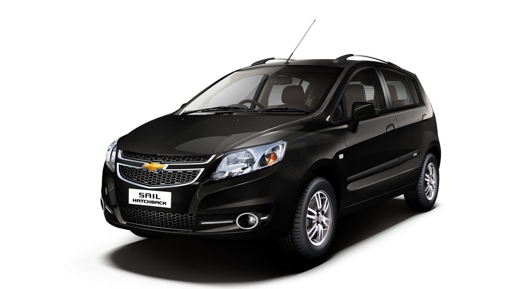 Chevrolet SAIL Hatchback Colour Caviar Black