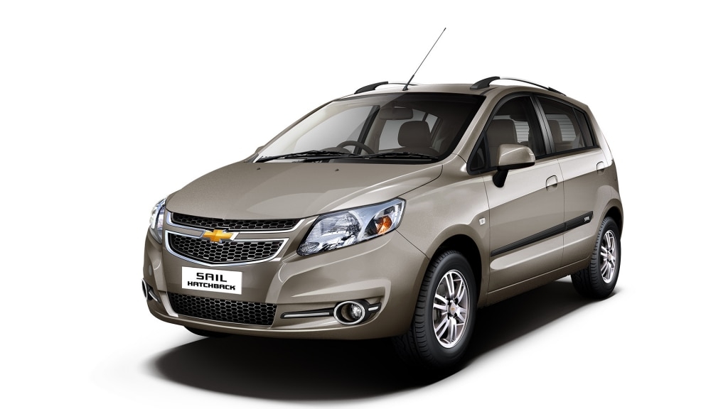 Chevrolet Sail Hatchback Colors, Chevrolet Sail Hatchback ...