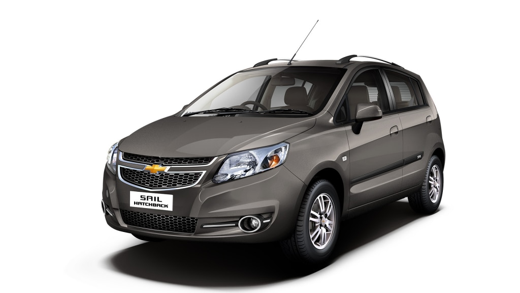 Chevrolet SAIL Hatchback Sandrift Grey