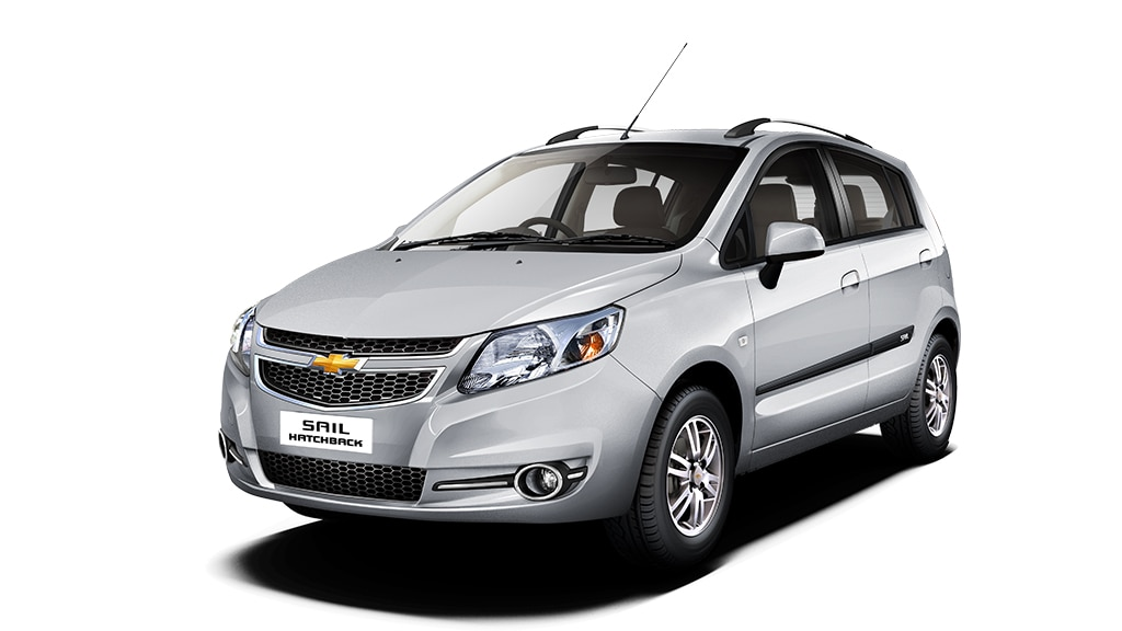 Chevrolet SAIL U-VA Colour Switchblade Silver