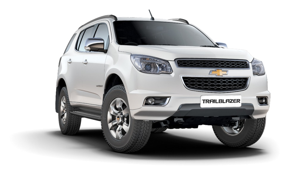 Chevrolet Trailblazer Colors Chevrolet India