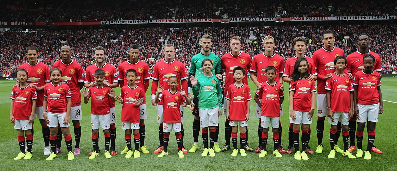 Special Mascot Moment To Kick Off Manchester United