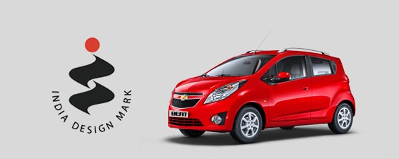 Chevrolet Beat awarded India Design Mark 2013
