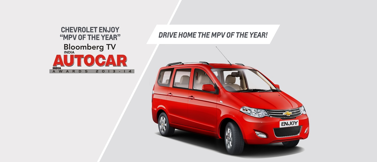 Chevrolet Enjoy awarded MPV of the Year