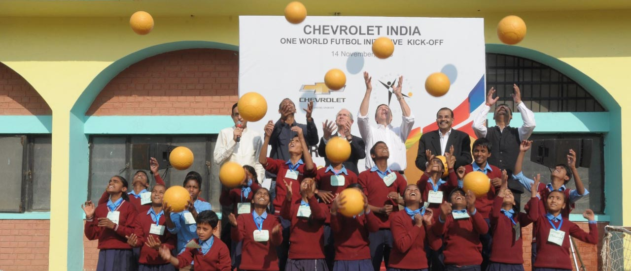 Chevrolet India and OWF Children Day Celebration