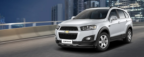 GM India Launches the MY 15 Chevrolet Captiva