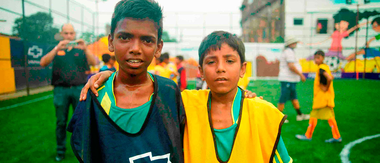 Chevrolet's Beautiful Possibilities program puts two children from India in spotlight for Manchester United match