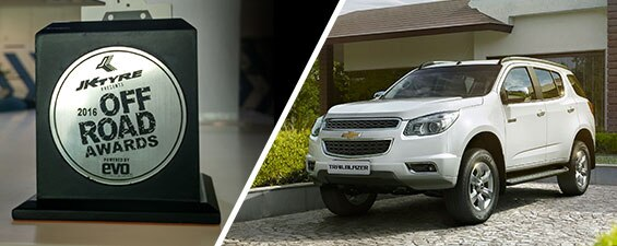 Chevrolet Trailblazer bags 'SUV of the Year 2015' award