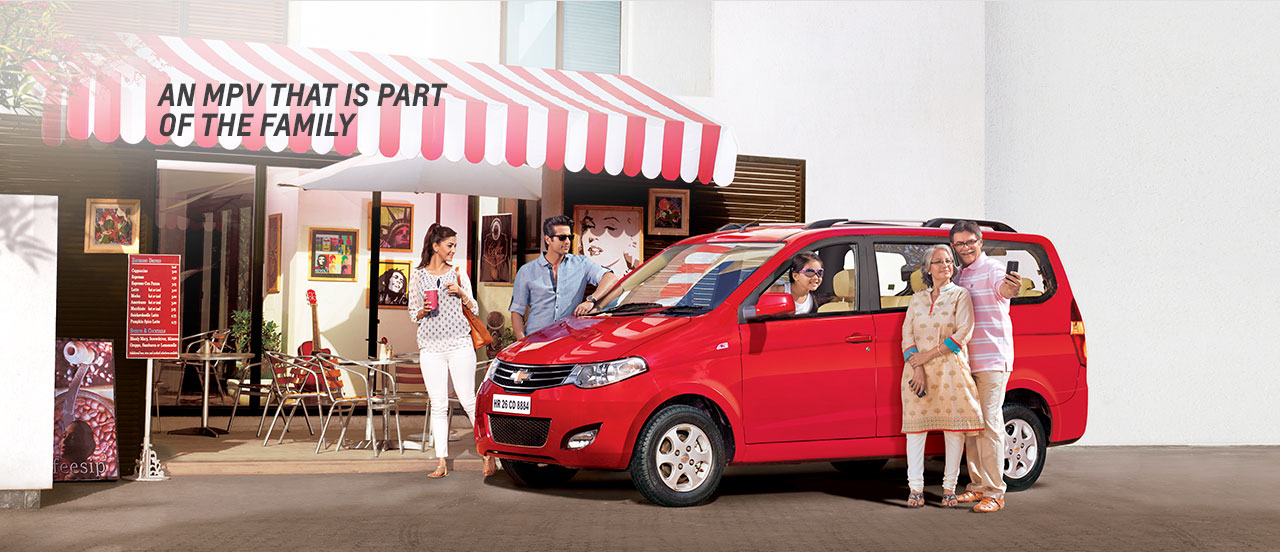 Chevrolet India MPVs: An MPV that is part of the family
