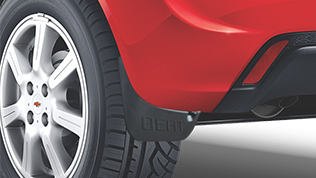 Chevrolet Beat Accessories Mud Flaps