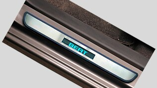 Chevrolet Beat Accessories Illuminated Sill Plates