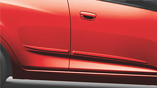 Chevrolet Beat Accessories Body Side Molding