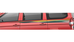 Chevrolet Enjoy MPV Accessories Body Decal