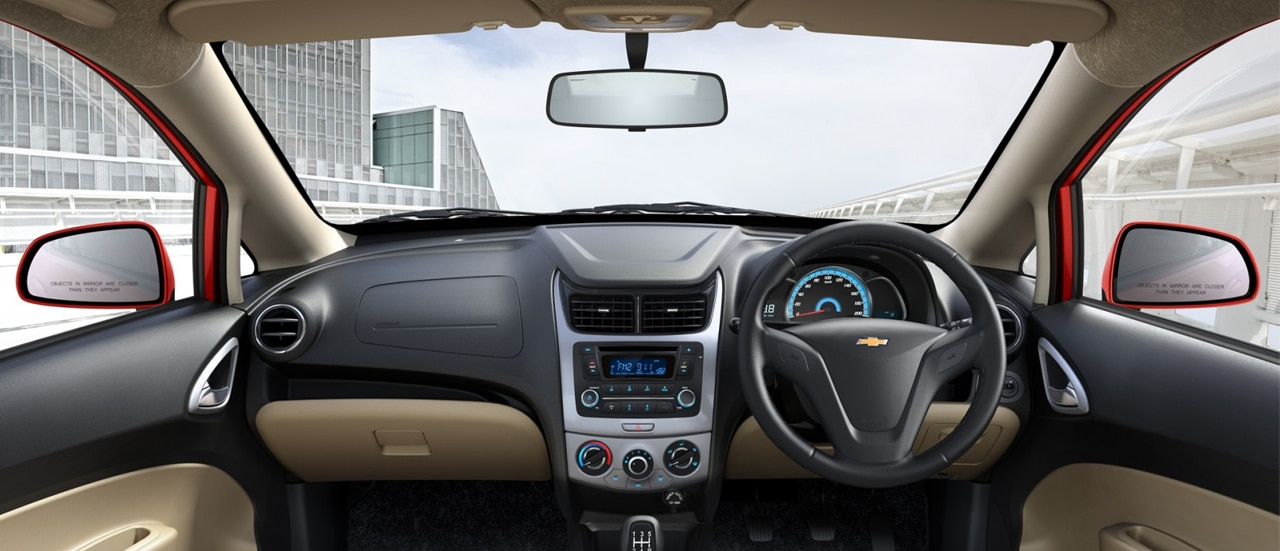 Chevrolet SAIL Hatchback Interiors 360 View