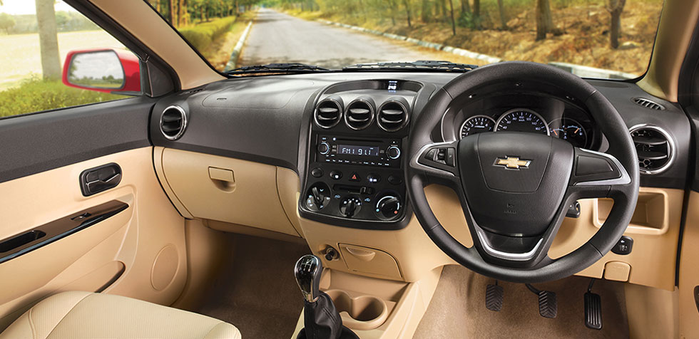 Chevrolet Enjoy MY Dual Tone Interiors