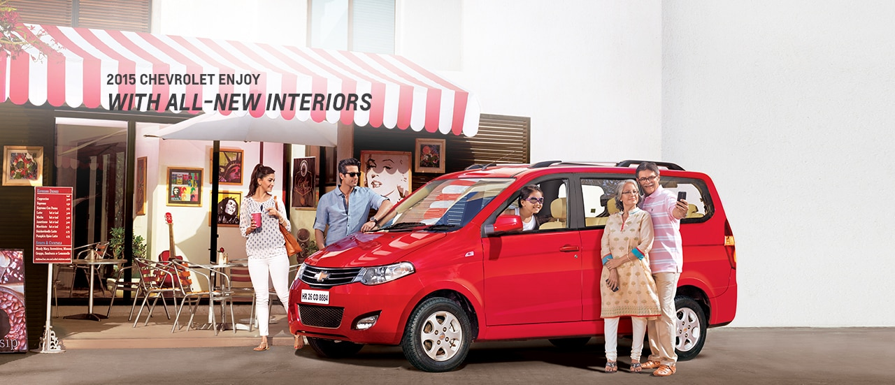 Chevrolet Enjoy Mpv Models Specifications Chevrolet India