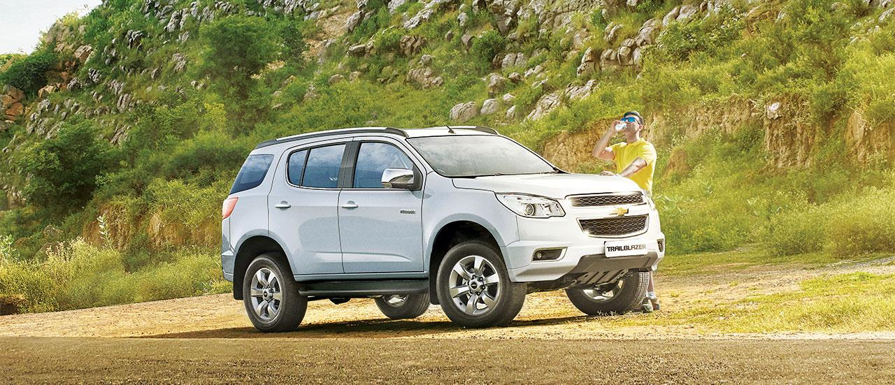 Chevrolet Trailblazer SUV: Price, Specs & Features | Chevrolet India