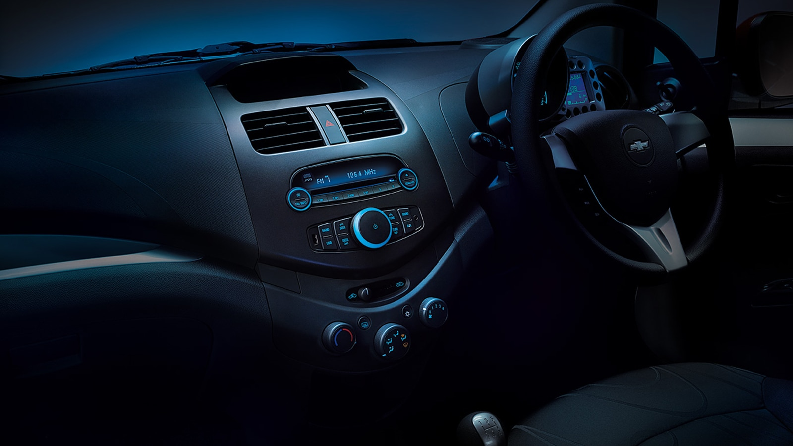 Chevrolet Beat Interior Images Gallery Chevrolet India