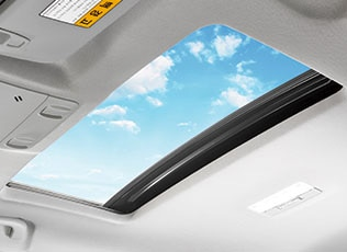 Chevrolet Cruze Electric Sunroof