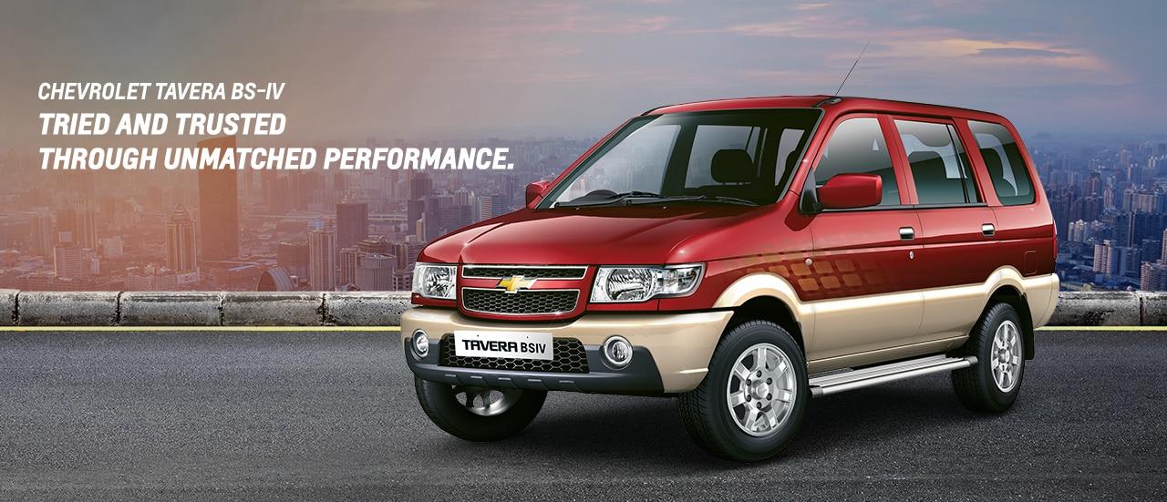 Chevrolet Tavera Models Specifications Chevrolet India
