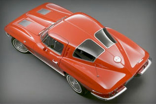 "Chevrolet History 1963 Corvette Sting Ray ""Split-Window"" Coupe"