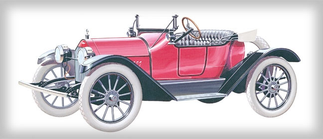Chevrolet History 1914 Royal Mail Roadster
